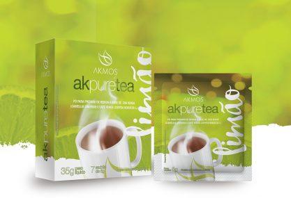 Embalagem AK Pure Tea