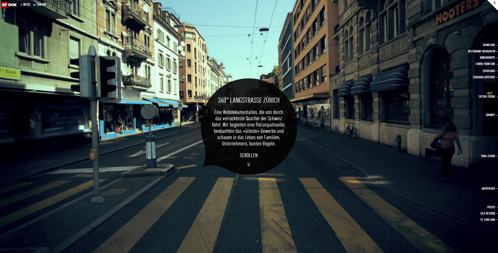 Site 360° LANGSTRASSE ZÜRICH - 9 Sites incríveis para você se inspirar