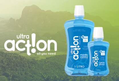 Marca e Embalagens – Ultra Action